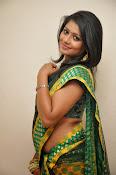 glamorous Anu Sri saree photos-thumbnail-9