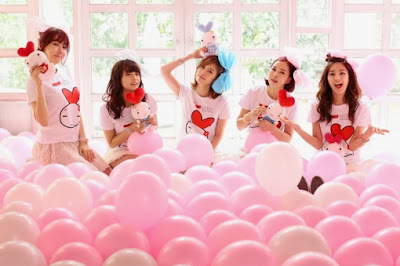 heart rabbit girls k-pop