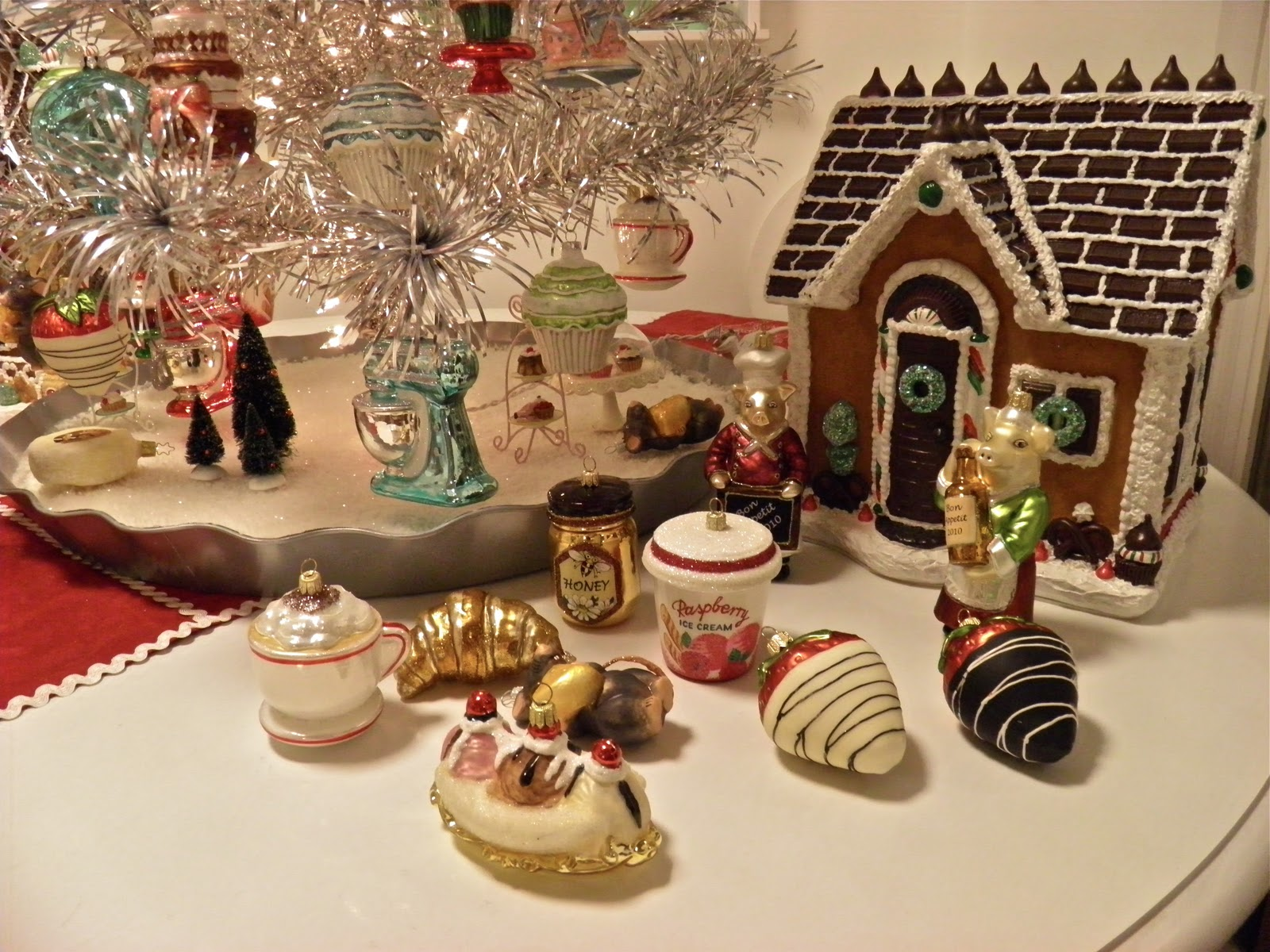 Pottery barn christmas ornaments - Tuesday November 29 2011