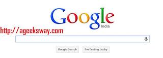 Google's I'm Feeling Lucky Button