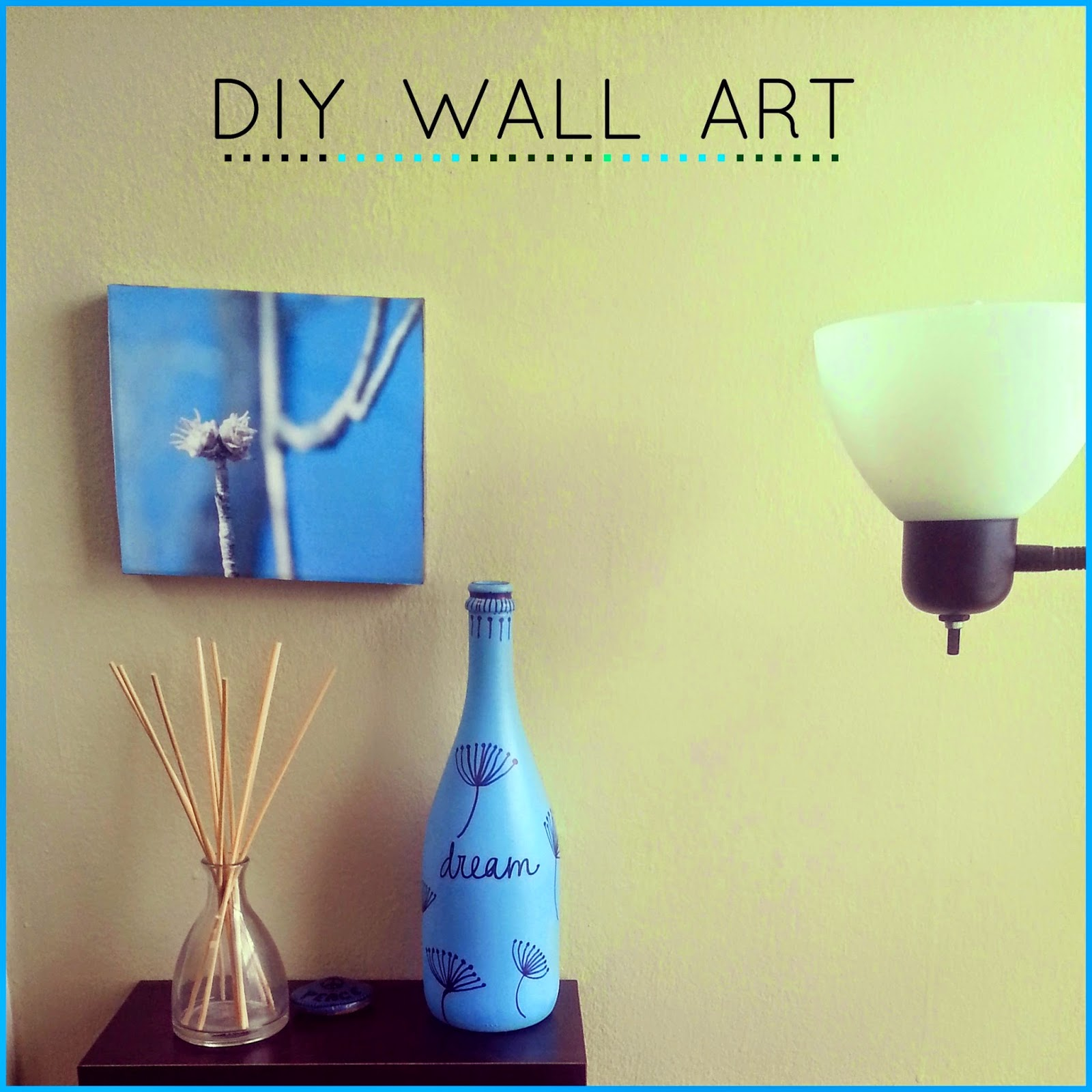 A Kaleidoscopic Dream : DIY Wall Art- using perfume/shoe box lid