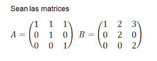 multiplicación de matrices
