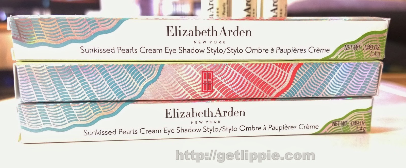 Elizabeth Arden Sunkissed Pearls Cream Eye Shadow Stylos