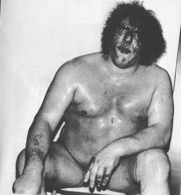 wrestler bleeding 1983