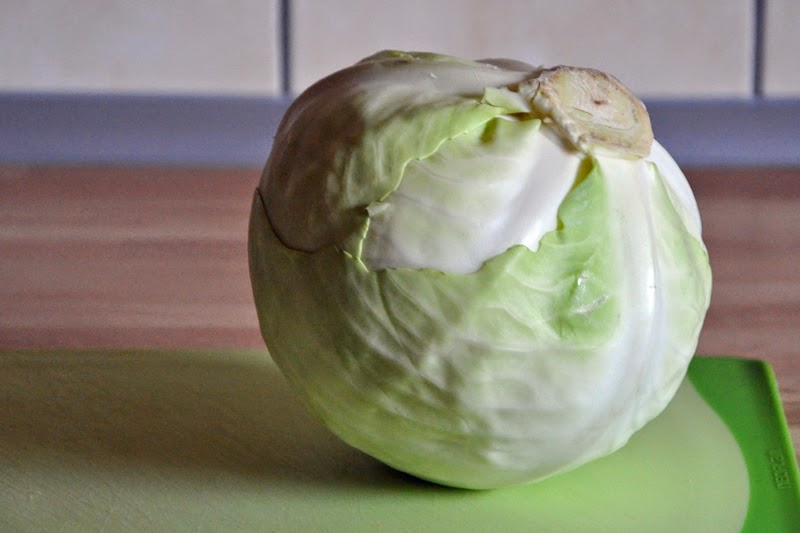 Weißkohl-Challenge Teil 1: Krautsalat