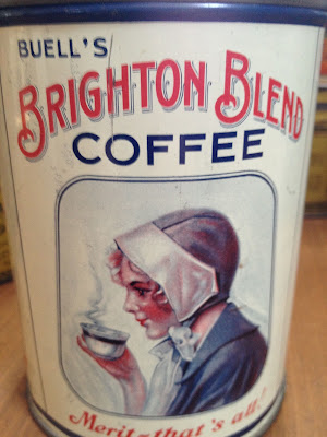 Buell's Brighton Blend Coffee Tin