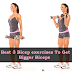 3 Bicep Exercises to Help You Get Bigger Biceps