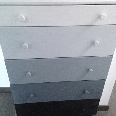 Pintar un mueble de madera sin tratar con pintura chalkpaint. Muebles IKEA