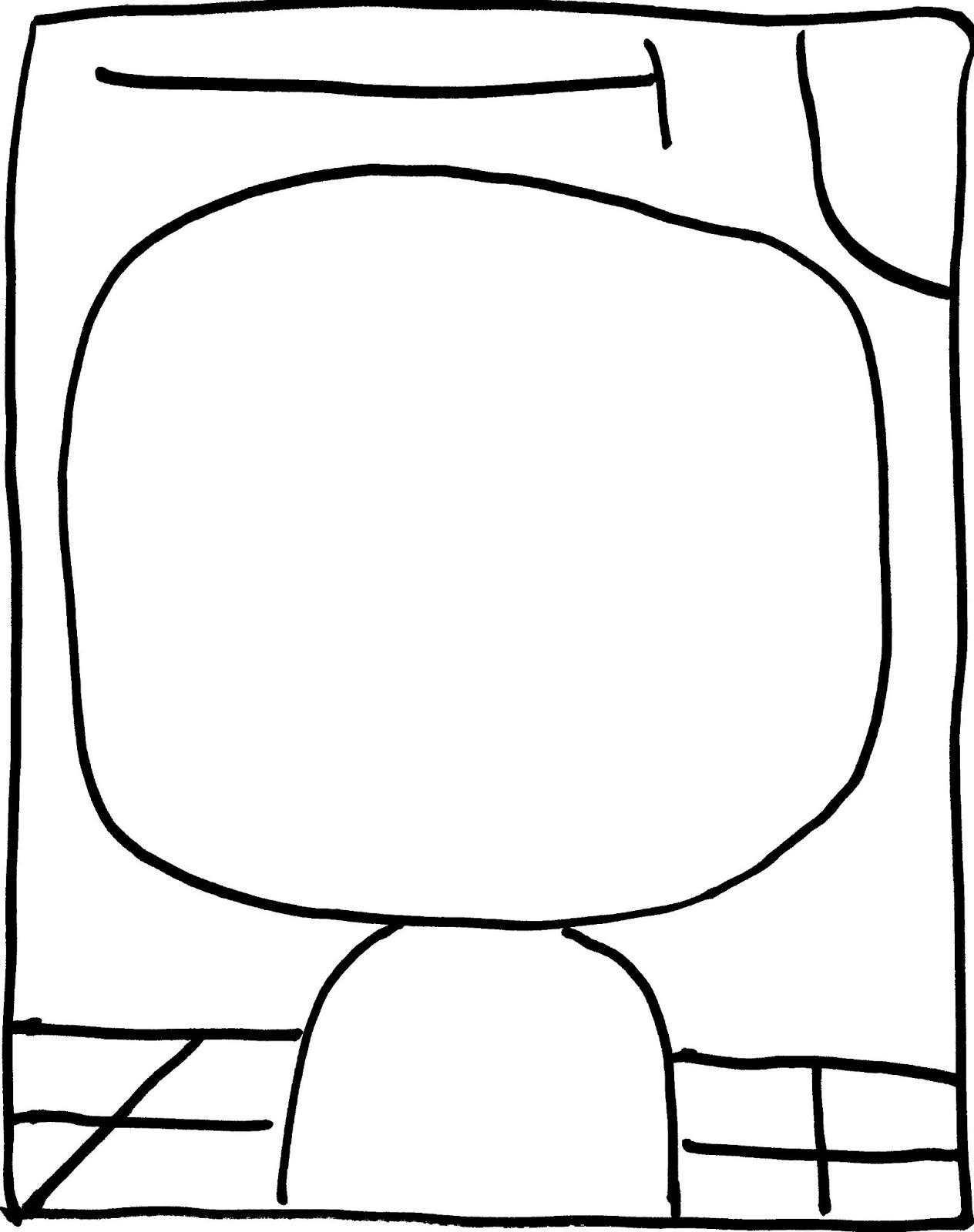 Pintar paul klee for Paul klee coloring pages