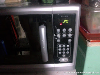 Microwave for 20 seconds