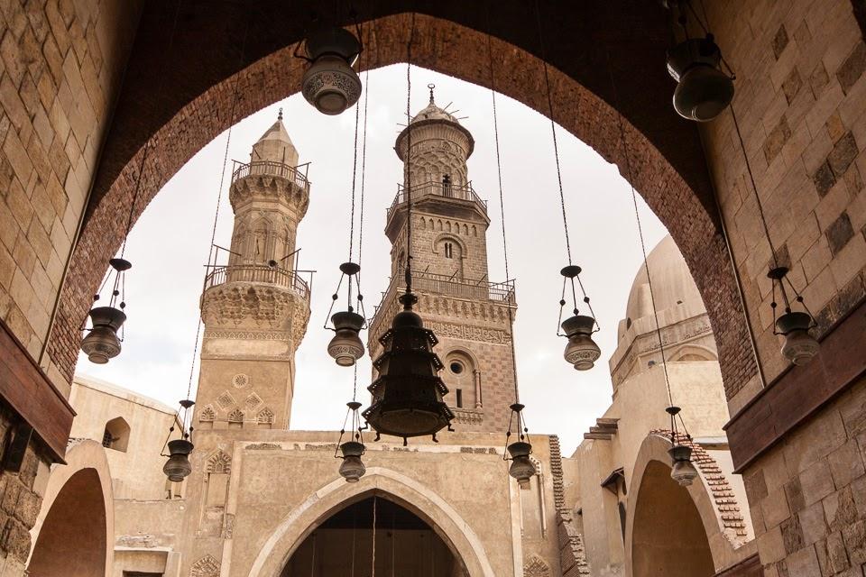 Barkúk szultán medreszéje Kairóban
