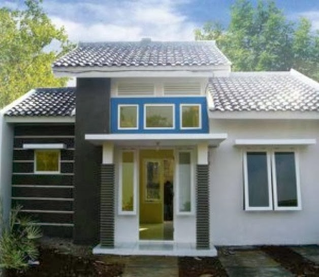 kombinasi warna cat rumah minimalis terbaru 2014