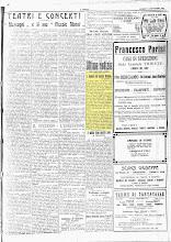 """"""" IL POPOLO"""" QUOTIDIANO DI BERGAMO DEL 11 SETTEMBRE 1922"""