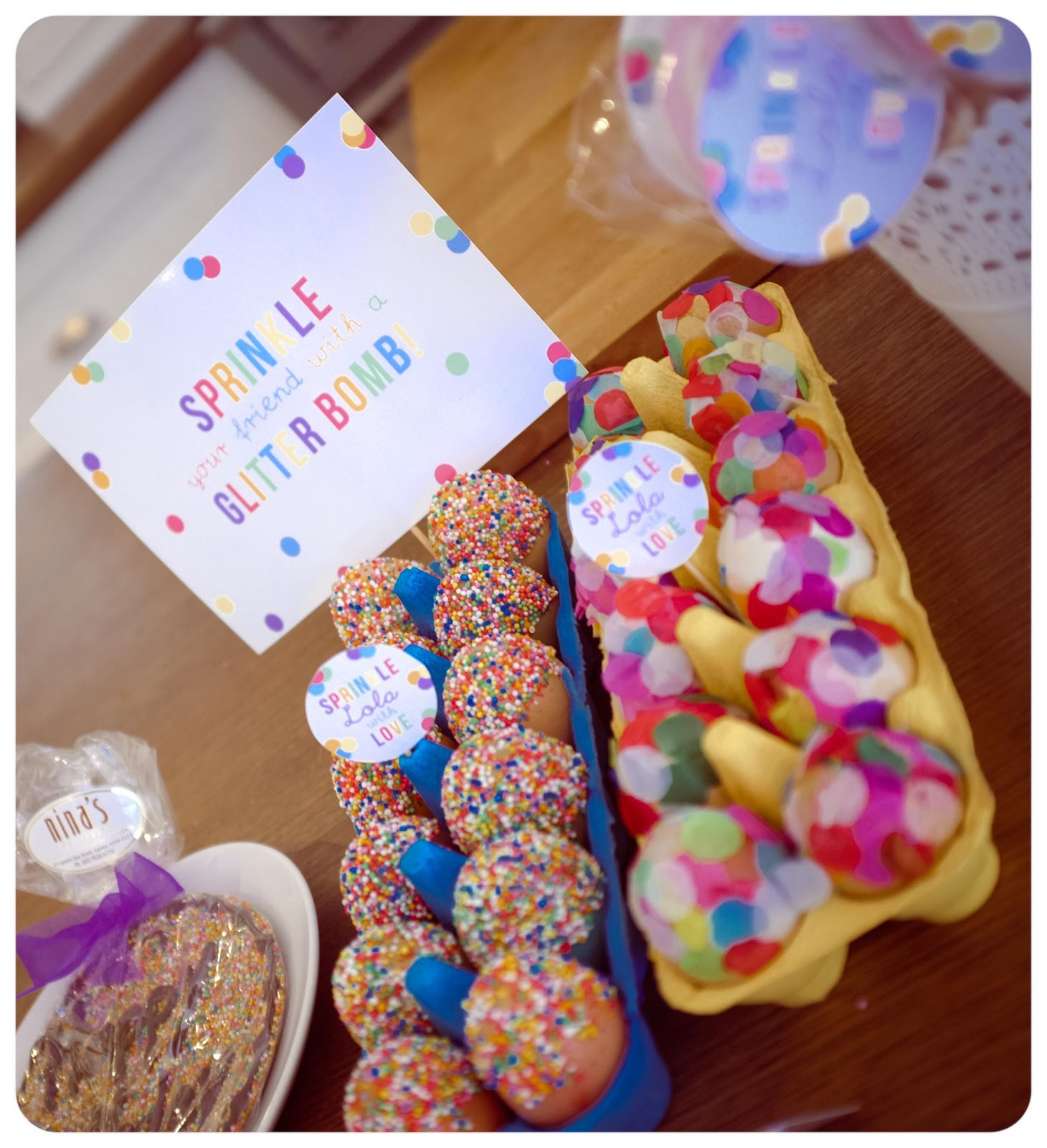 The Urchin Collective: Lola's Sprinkle Party