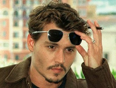 Short Hair Johnny Depp Hairstyle A Star News Gallery