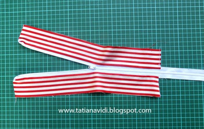 Tatiana Vidi Sewing Blog: Free Tutorial 28 - Nikki Bag