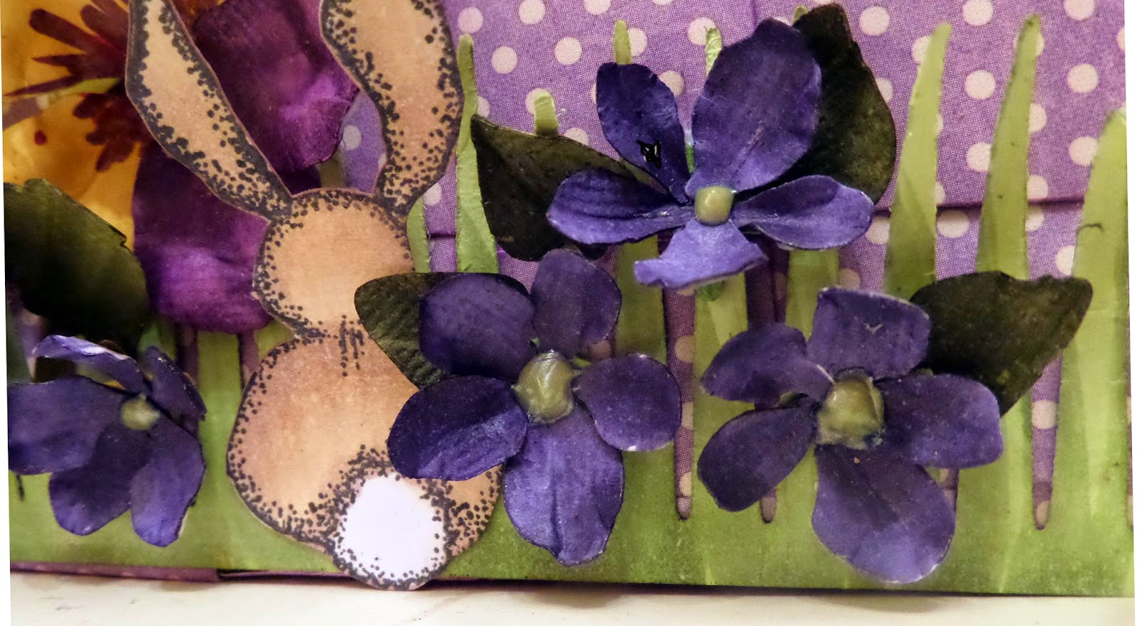 Secret Garden Easter Basket 3 by Clare Charvill Graphic 45