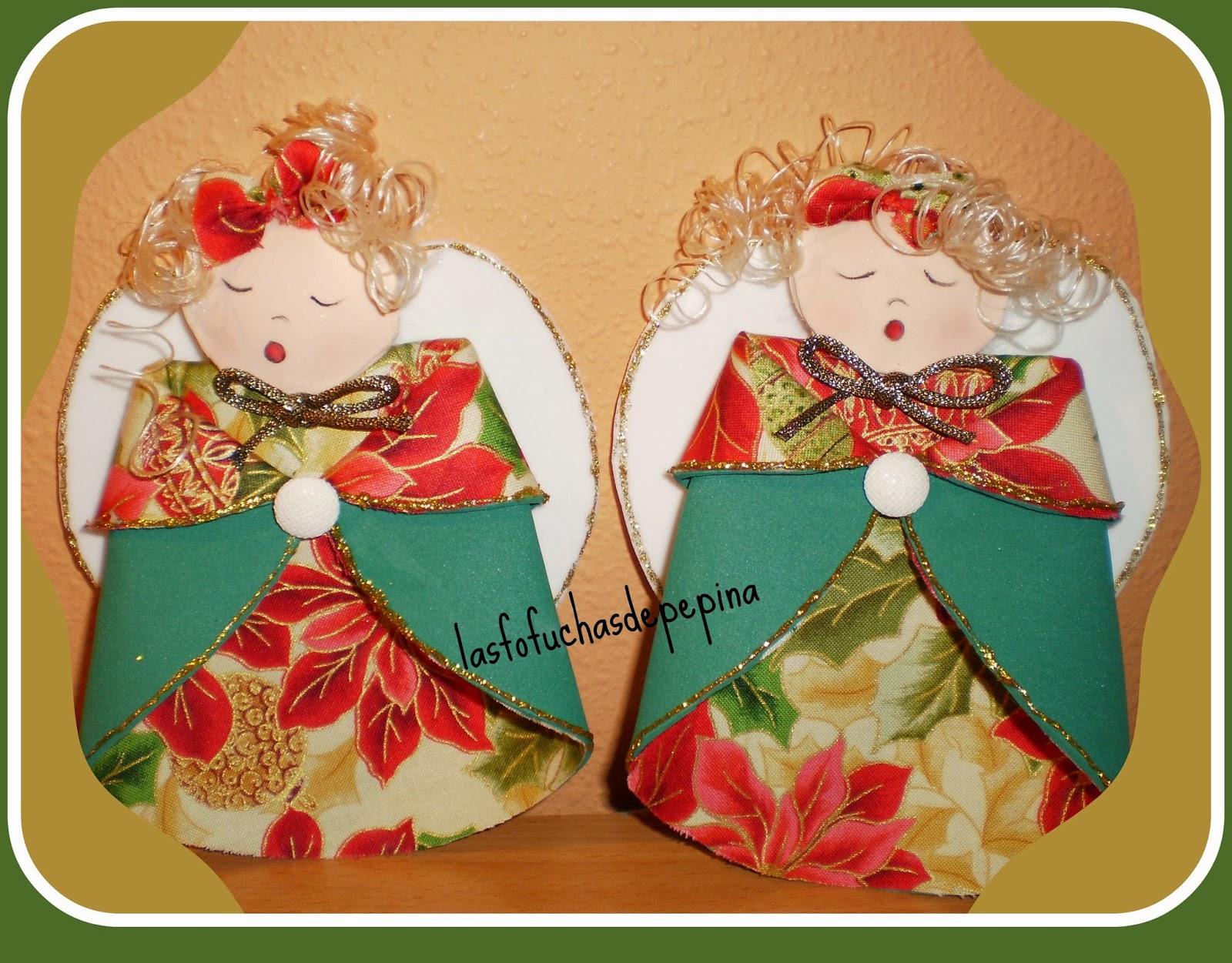 Las fofuchas de pepina adornos para el rbol de navidad - Como se hacen adornos navidenos ...