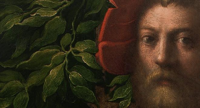 PARMIGIANINO Portrait of Lorenzo Cybo 1523 (detail)