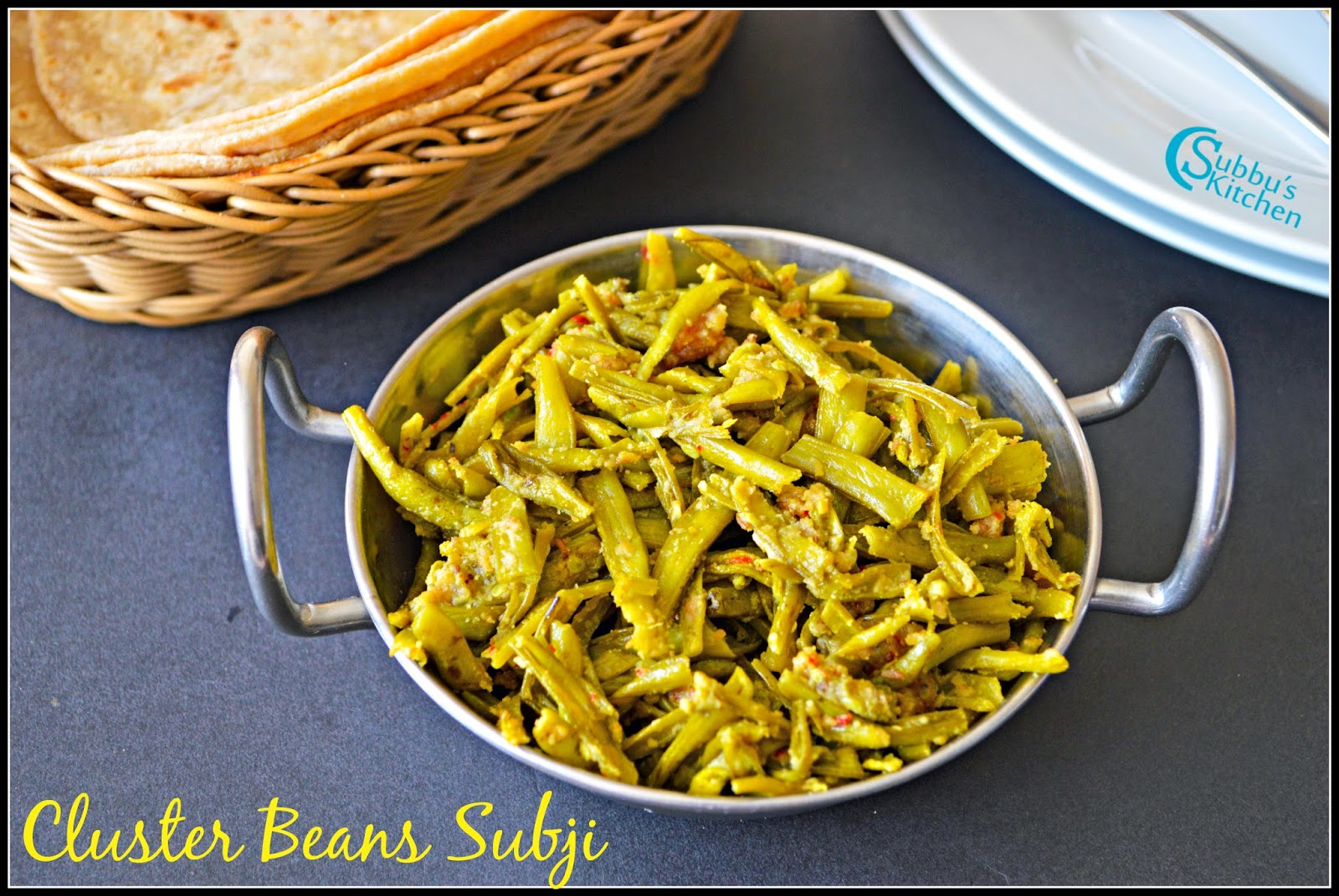 Cluster Beans Subzi Recipe | Kothavarangaai Dry Curry Recipe