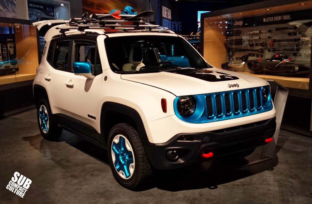 "Mopar Jeep Renegade ""Frostbite"" 2014 SEMA Show"