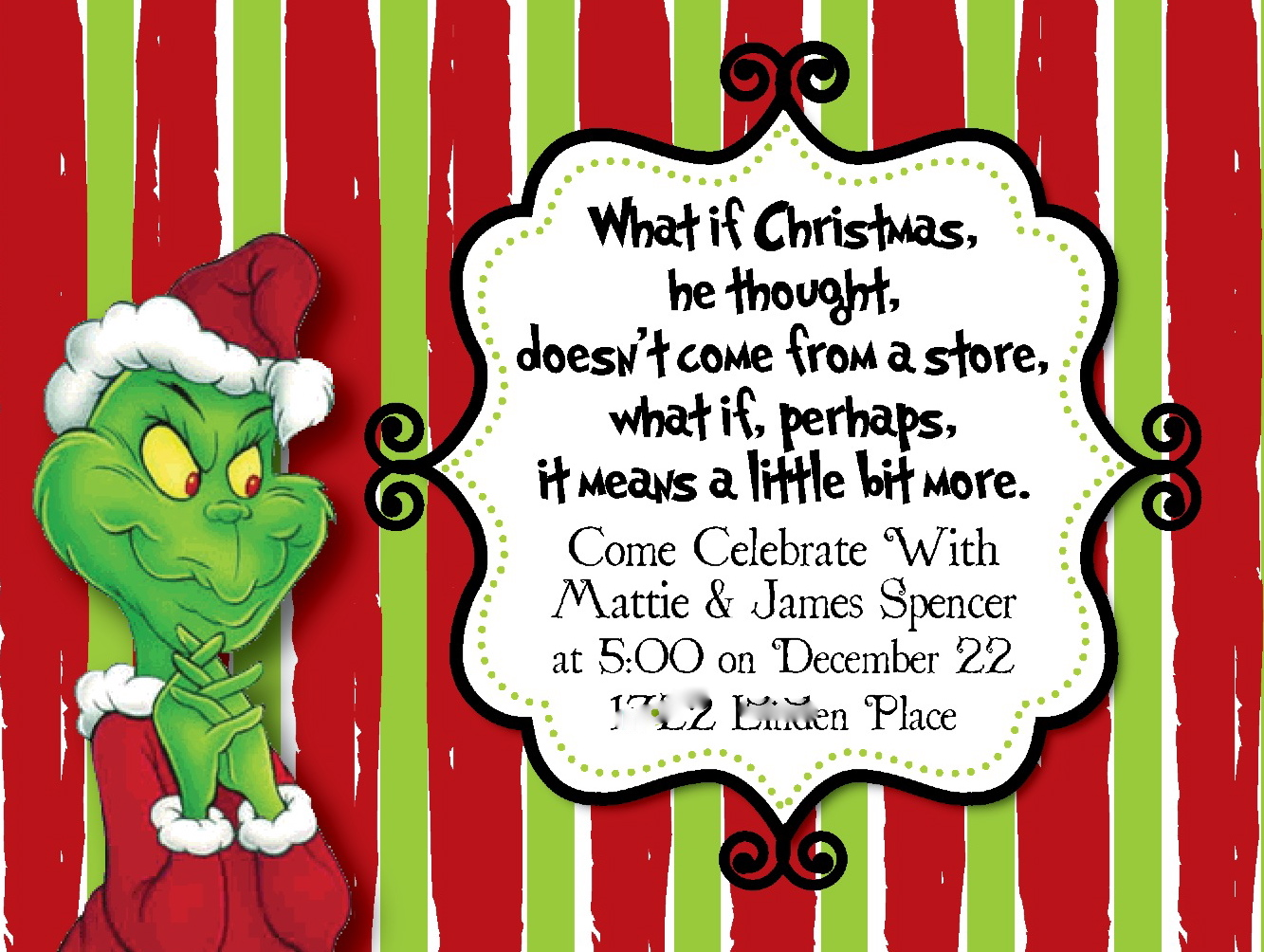 Beth Kruse Custom Creations: you\'re a mean one, mr. grinch