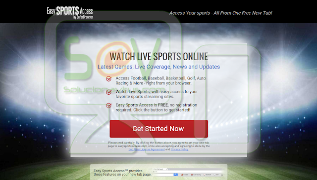EasySportsAccess or Easy Sports Access Toolbar