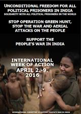 Semana de Solidaridad Internacional con Prisioneros Políticos en la India