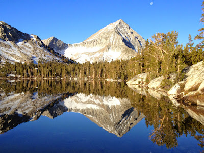 Bench Lake and Arrow Peak
