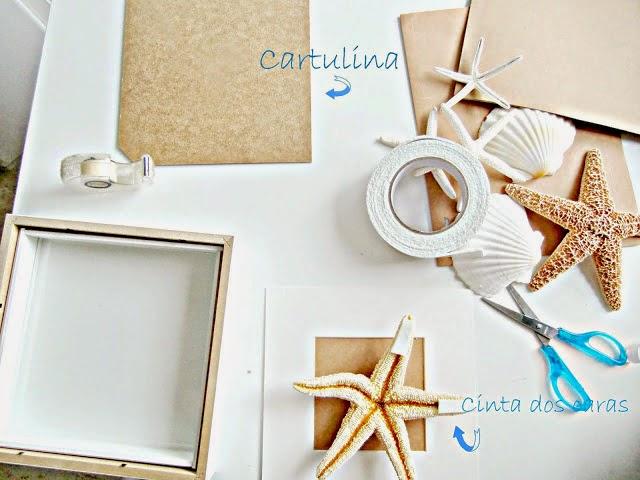 Decoraci n con conchas y caracolas decoraci n - Como hacer conchas finas ...