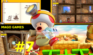CAPTAIN TOAD TREASURE TRACKER - DETONADO