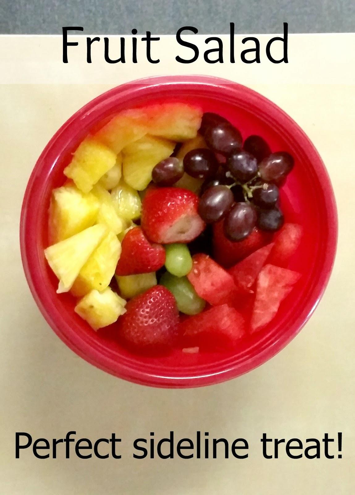 Fruit bowls are the perfect sideline treat! #SidelineHero #ad