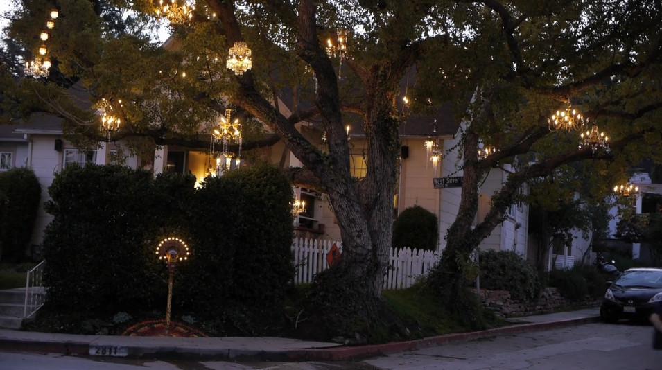 designers block: I Want To Live Next Door To The Chandelier Tree