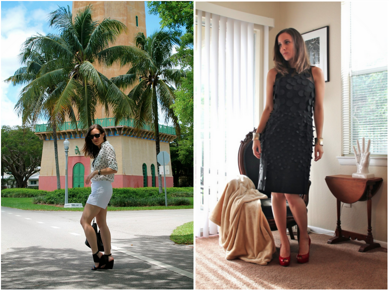 outfit ideas, polka dots, Miami, Miami fashion blogger, miami blog, miami fashion blog, what I wore