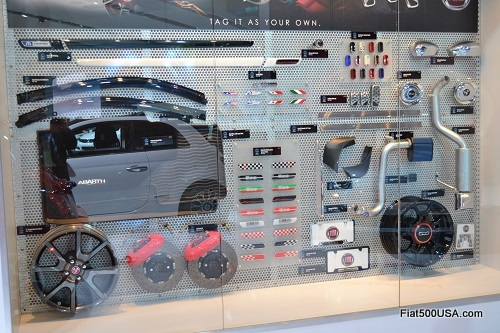 Fiat 500 Mopar accessories