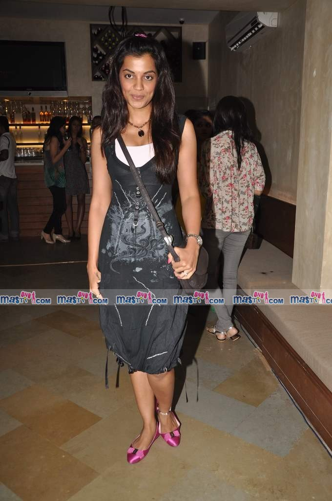 Mugdha Godse at Cafe Mangi launch hosted by Nishka Lulla
