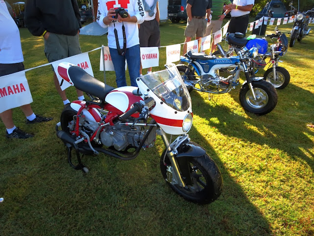 David Morales' Honda 50 Magnum and CT70