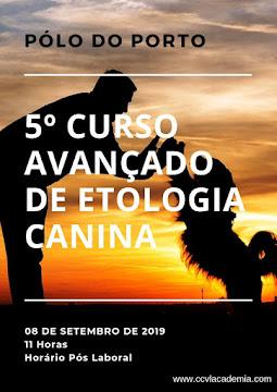 Próximo Curso Avançado de Etologia Canina - Pólo do Porto