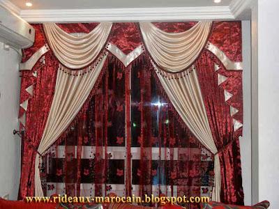 rideaux marocain rideaux occultants doubl avec deux couleurs tr s special. Black Bedroom Furniture Sets. Home Design Ideas