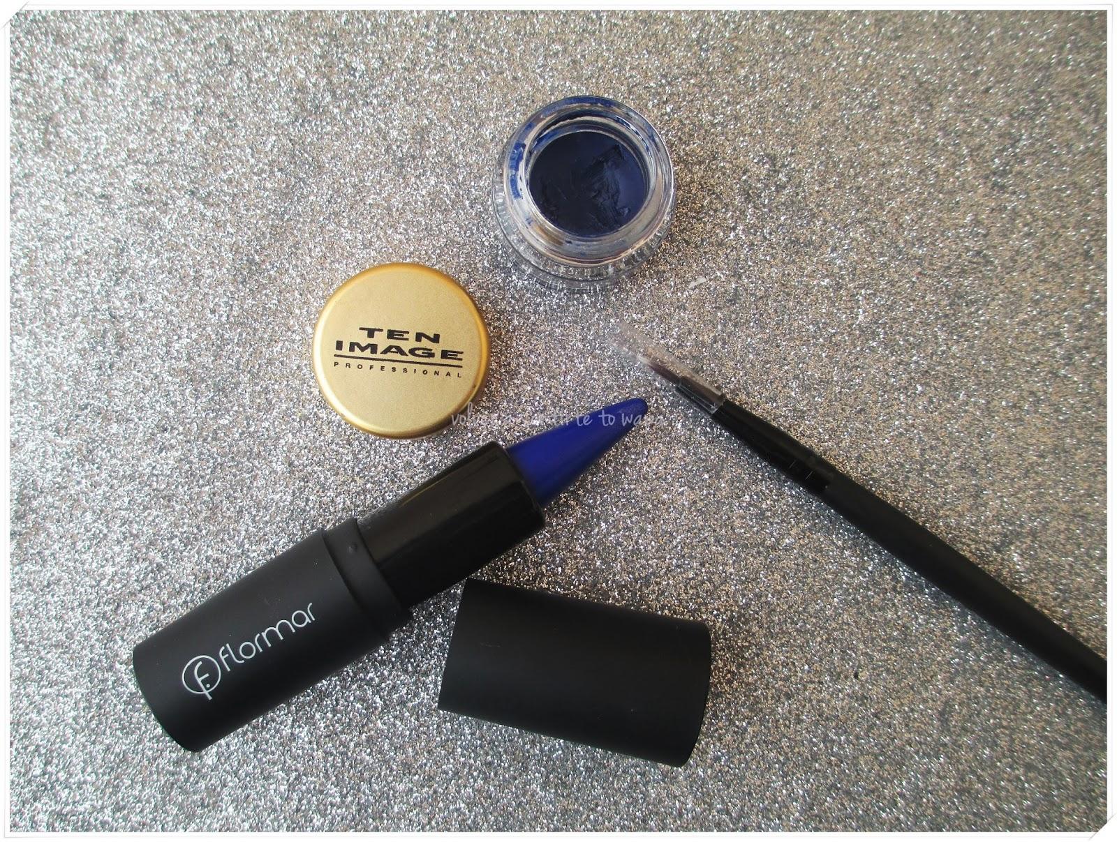 Delineadores azules - Ten Image de Cazcarra y Flormar