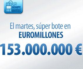 Bote de 153 millones para el martes