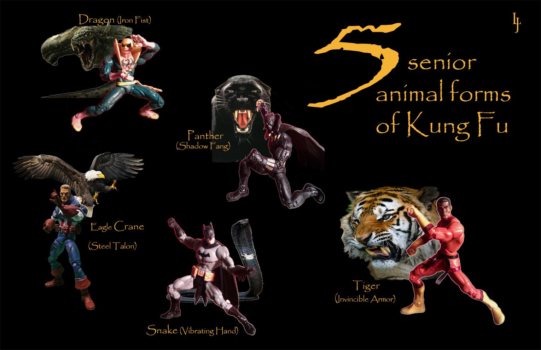 Leopard kung fu techniques
