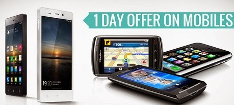Flat 15% | 10% | 5% Extra Discount on Mobile Phones at HomeShop18 (For Today Only)