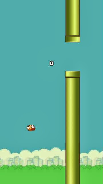 FlappyBird game for Symbian