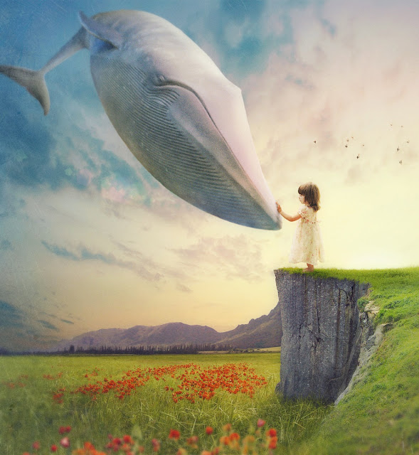 fantasy dream, small child,digital art dreams
