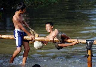 Peringatan HUT RI Di Desa Bulang