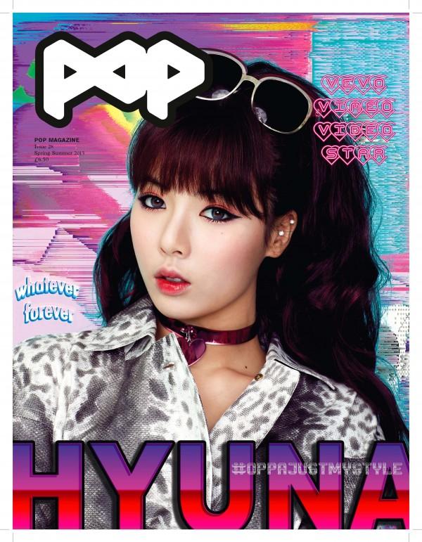 Hyuna POP Majalah