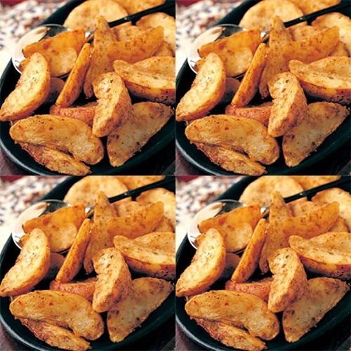 Resepi Potato Wedges Sedap Ala KFC yang rangup dan crunchy, resepi masakan kentang goreng KFC, gambar Potato Wedges, cara membuat Potato Wedges seperti KFC