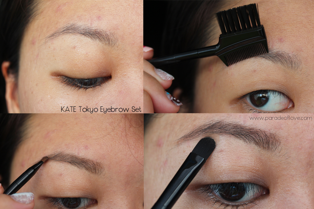 Define Your Brows With Kate Tokyo Designing Eyebrow Set Review