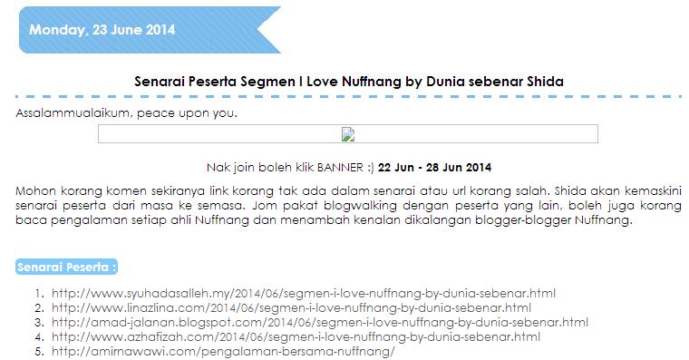 Blogwalking Sahur